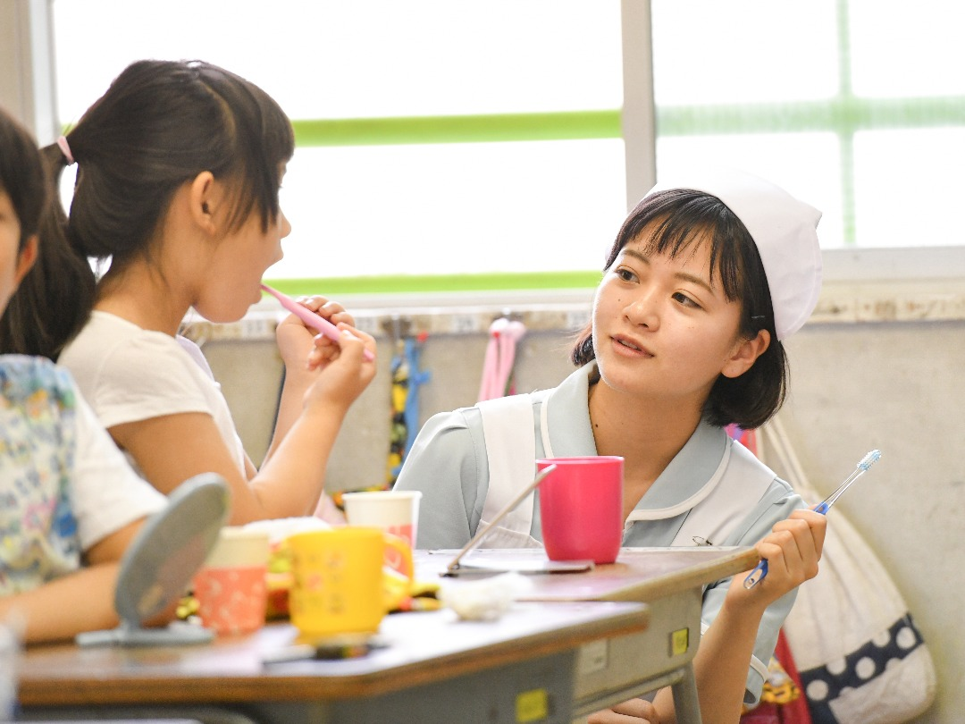 小学校での保健指導