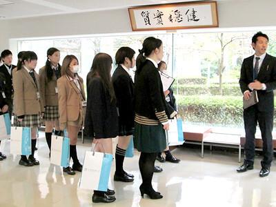 上級学校訪問