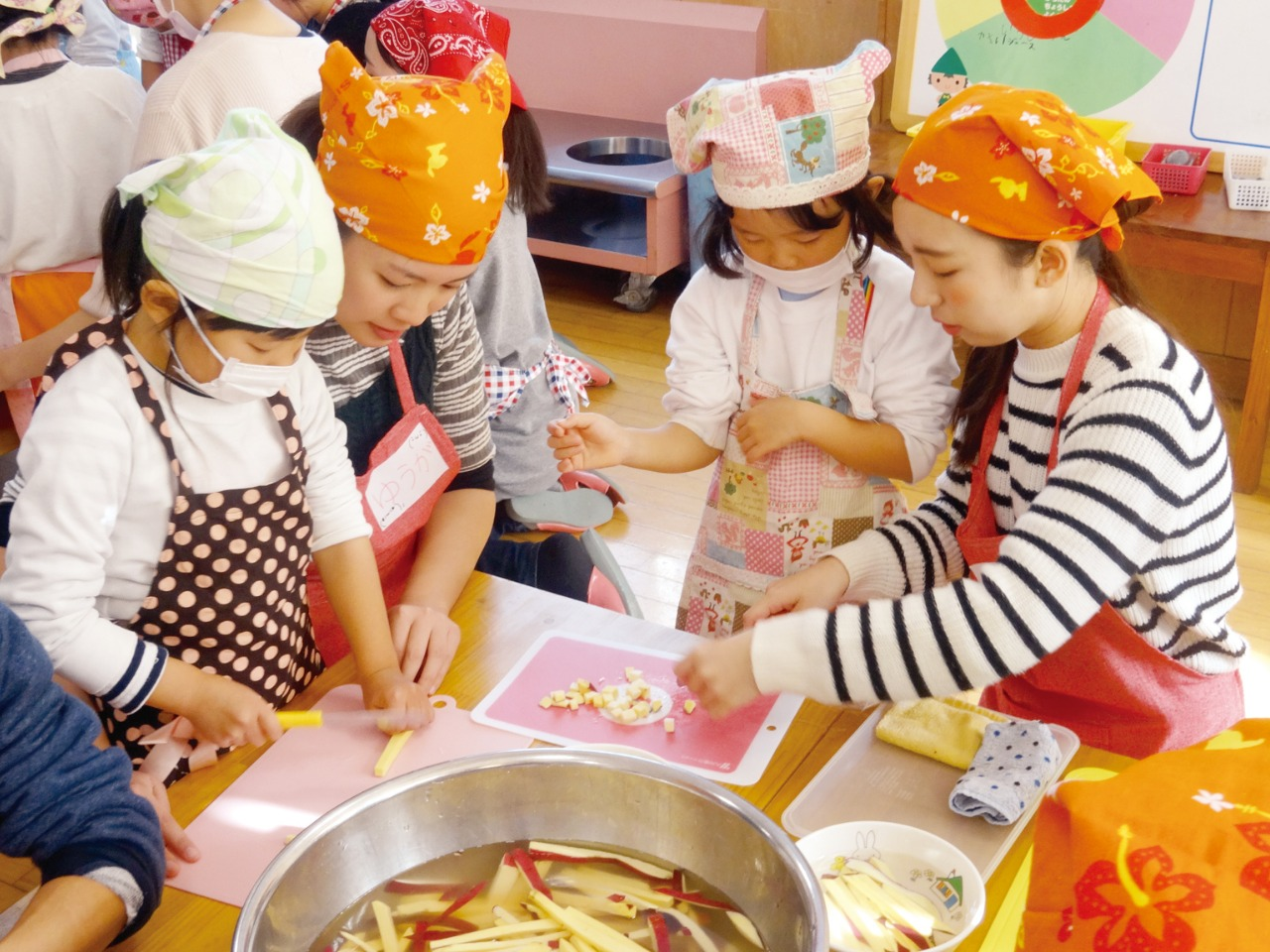 幼稚園・保育園での食育教室