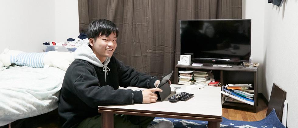 スポーツ健康科学部2年 松居 大智さん