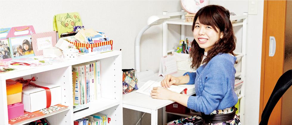 健康栄養学部 2年 飯田 幸恵さん