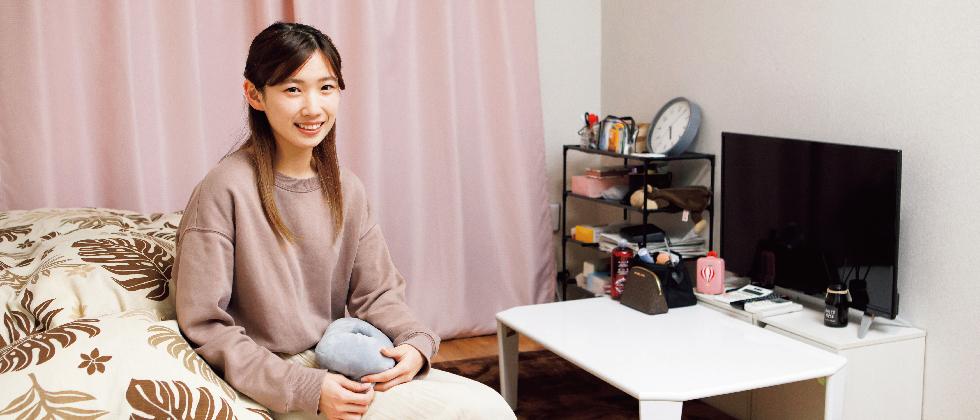 健康栄養学部2年 富山 泉希さん