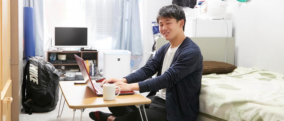 スポーツ健康科学部3年 山本 翔太さん