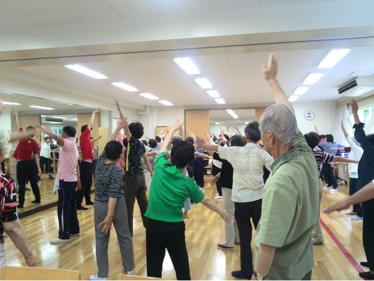 岡川講師による健康教室