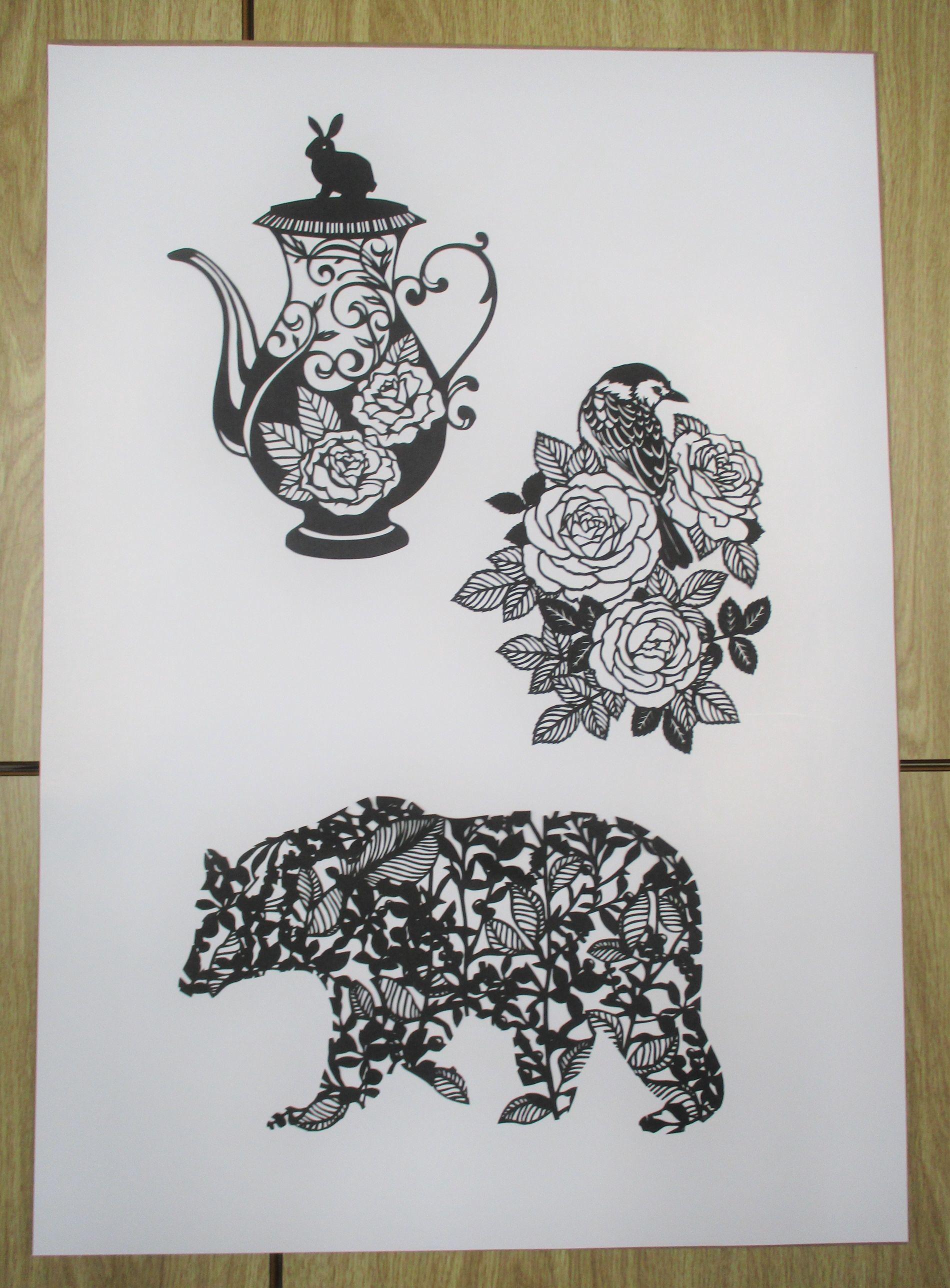 『動物たちのお茶会』